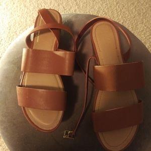 Women Elizabeth & James Leather Sandals